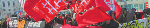 Demonstration in Magdeburg: Linke Politik verteidigen!