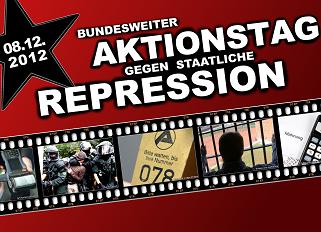 Bundesweiter Aktionstag gegen staatliche Repression
